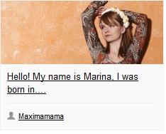 Blog Maximamama