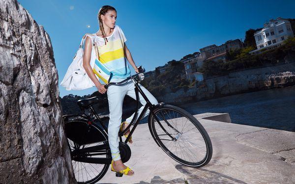 Оргазм женщины при езде на велосипеде