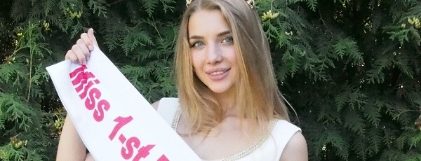 Анастасия Михайлюта завоевала титул Miss 1-st Teen Universe 2015